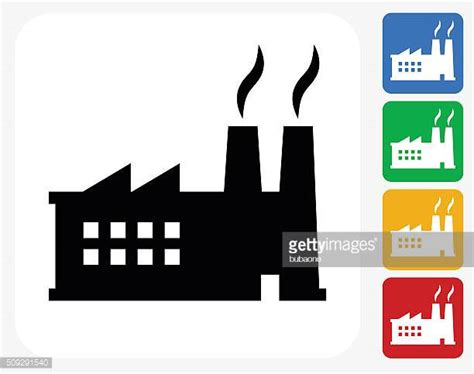 design icon factory manufacturing stock illustrations and cartoons getty images