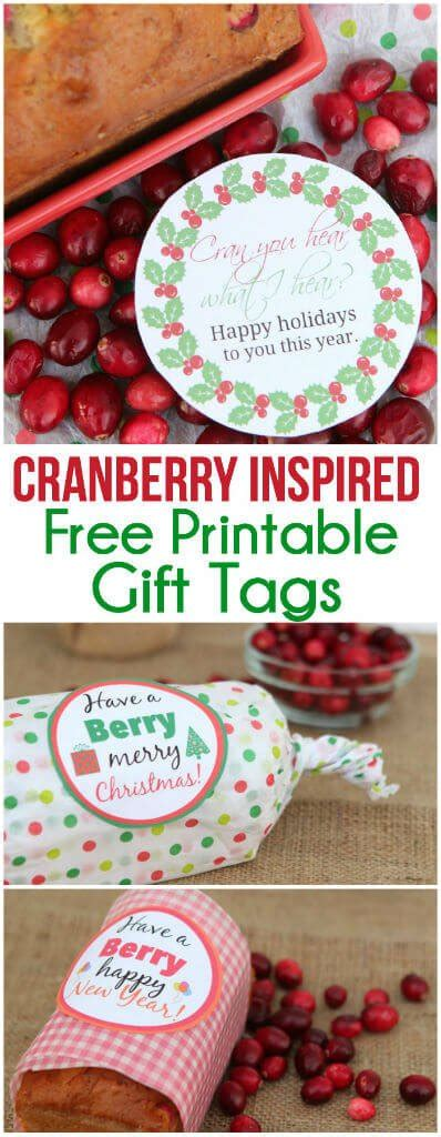 berry  holiday printables
