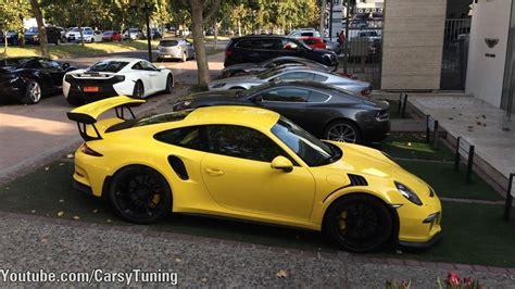 porsche gt3 rs yellow porsche 911 991 gt3rs pts yellow details start up and