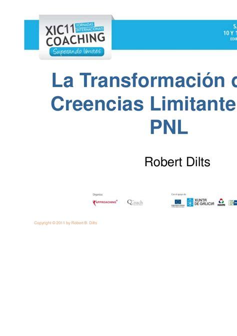 libro como cambiar creencias con libro como cambiar creencias con la pnl descargar gratis pdf