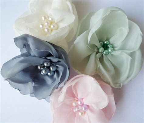 Handmade Material Flowers - 29 best images about flores de tela on sailor