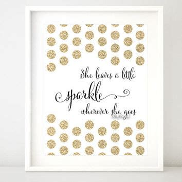 printable glitter quotes gold glitter quote print quot she from blursbyaishop home