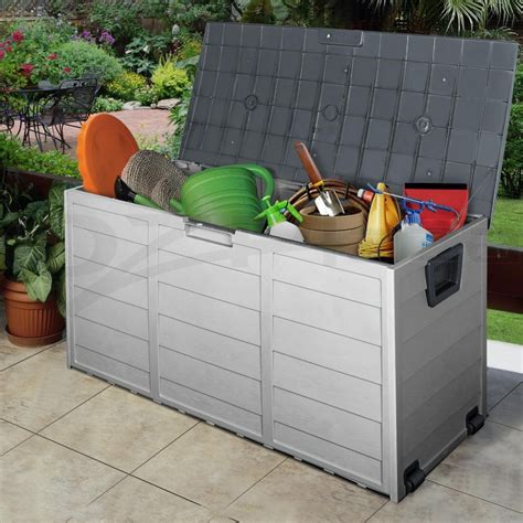 Plastic Garden Storage Plastic Storage Boxes For Garden Garden Storage Units