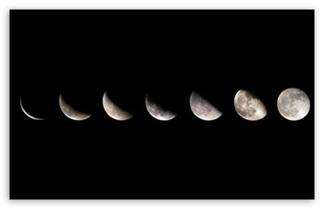 computer wallpaper we heart it a sequence of moon phases showing the different visual on