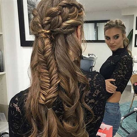 Half Up Half Prom Hairstyles by 31 Half Up Half Prom Hairstyles Stayglam