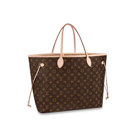 neverfull gm monogram canvas handbags louis vuitton