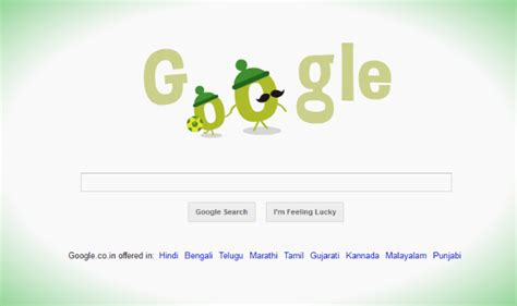 doodle of india doodle celebrates s day alongwith fifa fever
