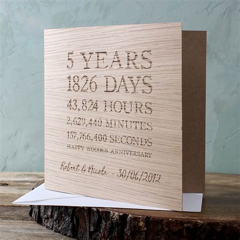 Wars Wedding Anniversary Card