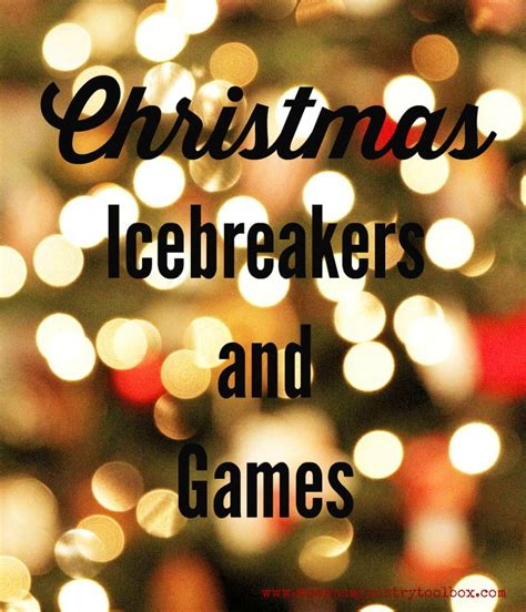 christmas icebreakers and games perfect for your