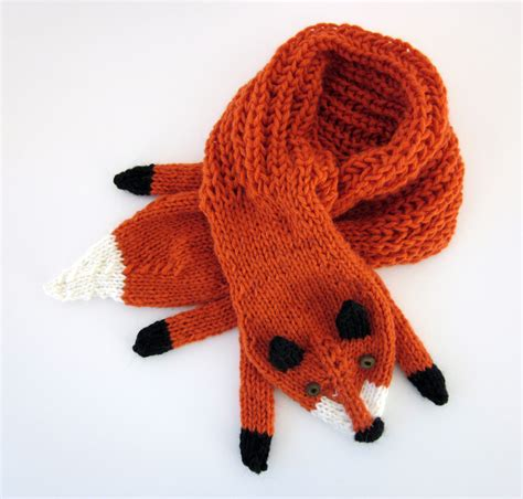 Fox Scarf fox scarf designs and patterns world scarf