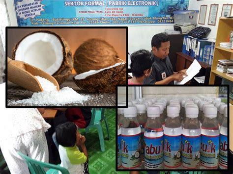 Kautsar Vco Coconut 125 Ml asal vco kreatif sekelompok mantan pmi di daerah ini survive