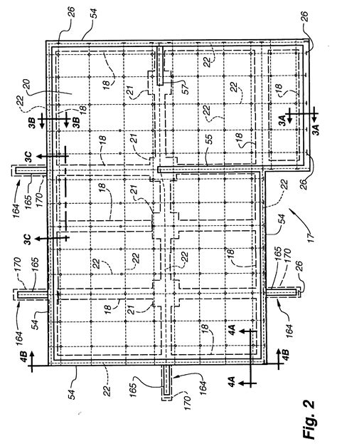 Slab Foundation Floor Plans by Patent Us20030233798 Post Tensioned Below Grade