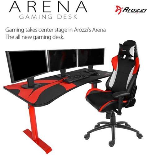 arozzi arena gaming desk arozzi reveal arena gaming desk eteknix