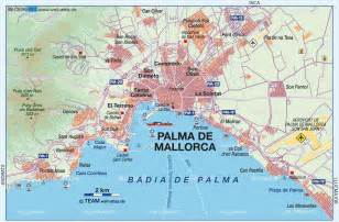 Mallorca World Map by Map Of Palma De Mallorca Overview Spain Map In The