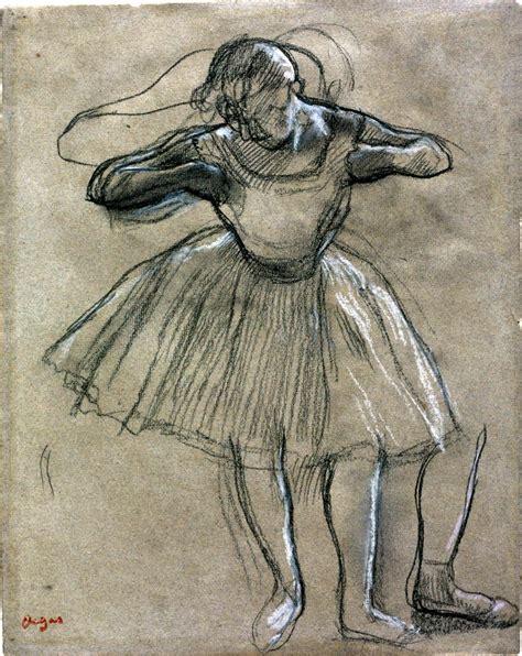 drawn in colour degas drawn ballet degas pencil and in color drawn ballet degas