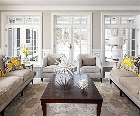 grey and taupe living room living spaces pinterest arredare il soggiorno