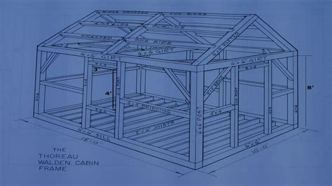 cabin blue prints thoreau cabin blueprint thoreau s cabin site cabin blue