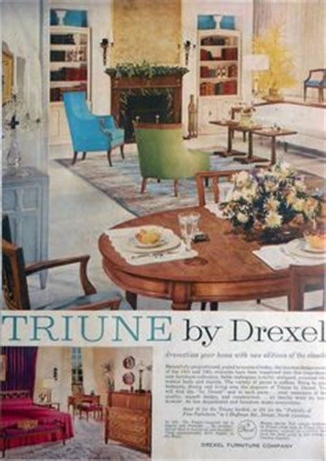 1960s drexel perspective dining room furniture ad drexel 1965 viewpoint 70 mcm drexel furniture pinterest