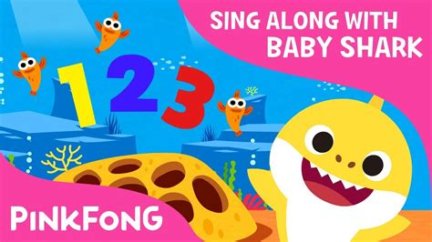 baby shark youtube pinkfong shark 123 baby shark number song sing along with baby