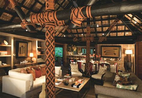 Exotic and unique style of Dolphin Island Fiji resort