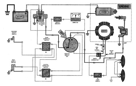 electrical wiring schematic of kohler electrical free