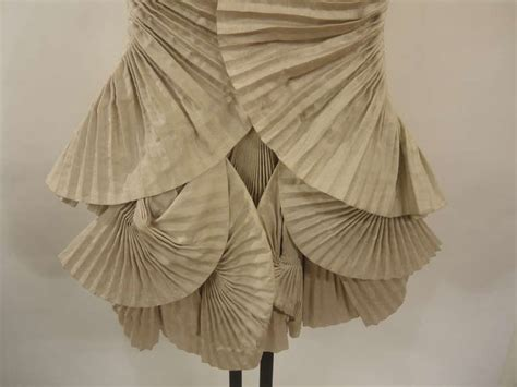 Origami Evening Dress - 2008 byblos origami collection dress at 1stdibs