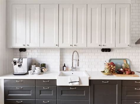 two colored kitchen cabinets the zhush divine details dual kitchen cabinet colors
