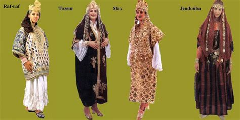 vetement traditionnel tunisienne costumes traditionnels tunisiens