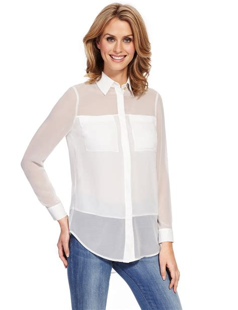 See Through Blouse by See Through Blouse What To Wear It Smart Casual Blouse