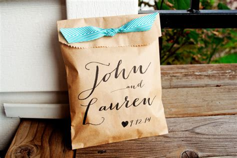 wedding favor bags personalized wedding favor bag