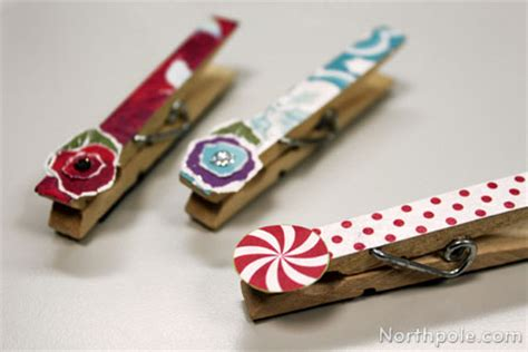 clothespin craft ideas for christmas clothespins