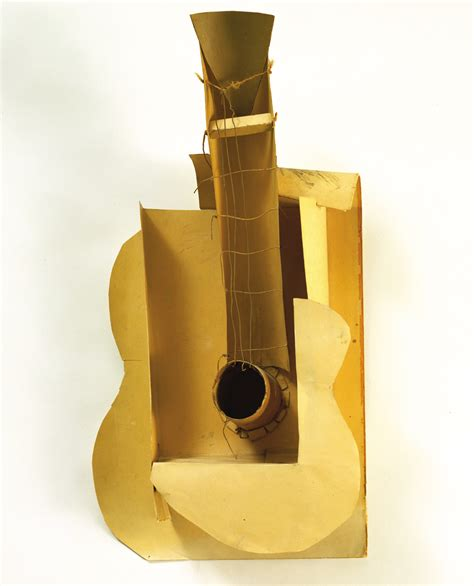 pablo picasso paintings guitar pablo picasso maquette for guitar 1912 cubism still