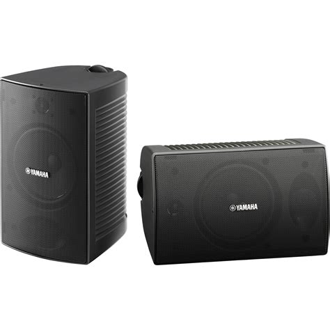 Speaker Subwoofer Outdoor yamaha ns aw294 outdoor speakers pair black ns aw294bl b h