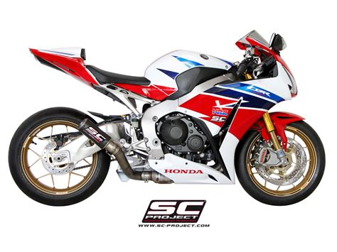 Sc Project Cbr 1000 Carbon Rr Series Titanium 2012 honda cbr 1000rr sp 14 16 exhaust sc project