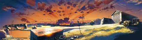 Tlcharger Fond D Ecran Anime Dessin Ferme Hangar Fonds Bureau Fermé