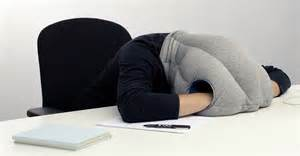 desktop nap pillow is perfect for catching zzzs on the job