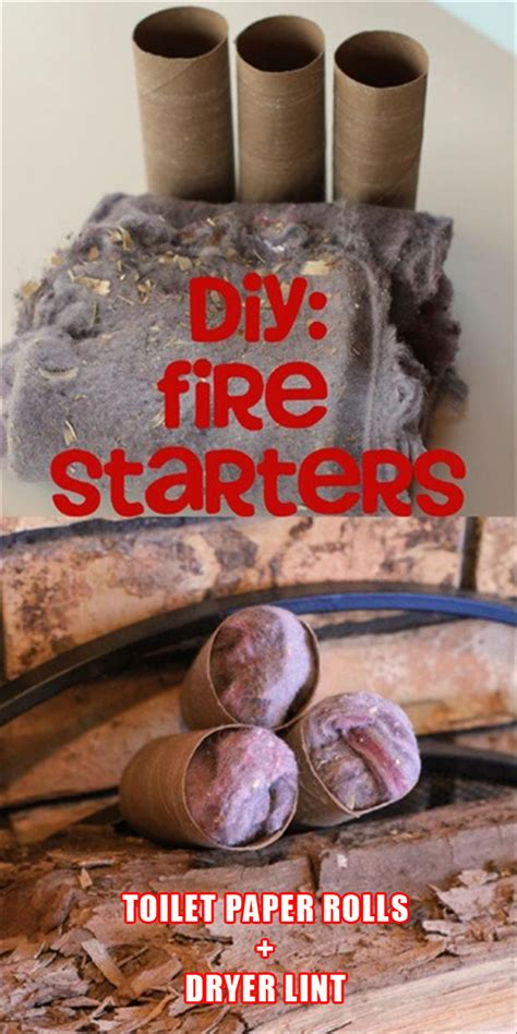 How To Make Paper From Dryer Lint - firestarters cing tips use toilet paper rolls and