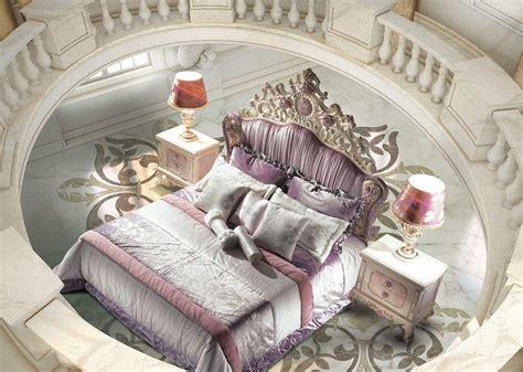bett geschnitztes kopfteil bett im luxus klassischen stil gepolstertem kopfteil