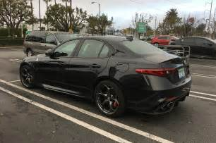 Alfa Romeo Guilia The Alfa Romeo Giulia Quadrifoglio And The Luck Of The Half Motor Trend