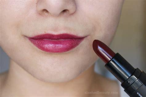 Moisturizing Lipstick Marsala Blush new e l f lipsticks for fall swatch and makeup