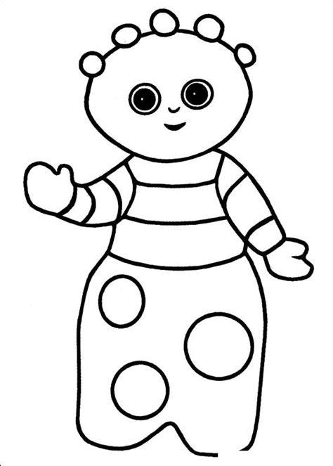 in the night garden coloring pages8 coloring kids