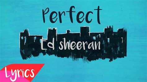 ed sheeran perfect usa ed sheeran estrena nuevo single quot perfect quot 187 noticias musica