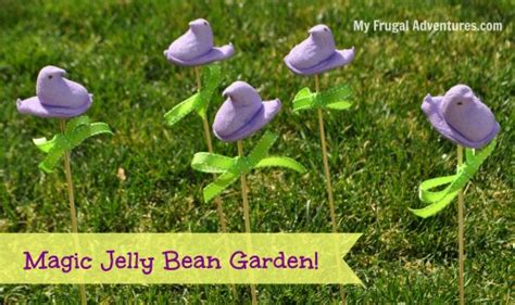 commercial girl planting jelly beans easter craft idea magic jelly bean garden my frugal