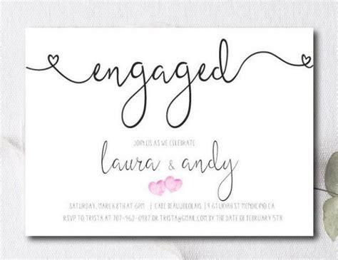 Free Printable Engagement Invitation Cards | engagement party invite engagement party invitation