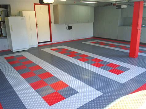 Stylish Modular Floors Tiles and Garage Flooring