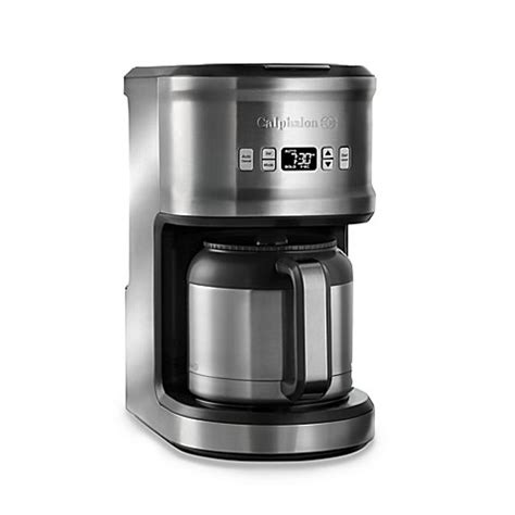 bed bath beyond coffee maker calphalon 174 quick brew 10 cup thermal coffee maker bed