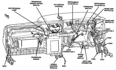 wiring diagram 1996 dodge dakota headlight switch graphic