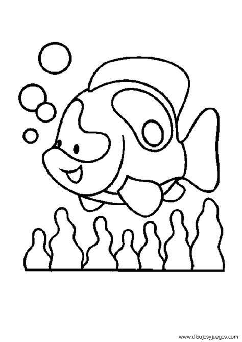 imagenes animales marinos para colorear dibujos de animales acuaticos imagui
