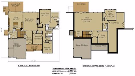 house floor plans with basement stylist design ranch home floor plans with walkout