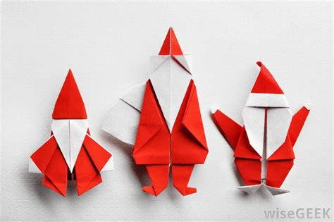 what are the different types of origami christmas crafts